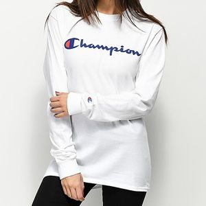 Champions long sleeve shirt